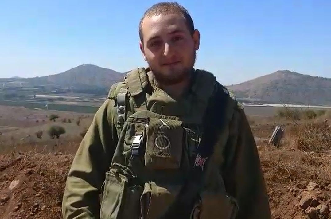 """רב""""ט ינון שילוח, לוחם בחטיבת השריון 7 (באדיבות דובר צה""""ל)"""