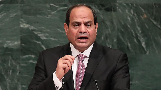 Egyptian President Abdel Fatah al-Sisi (Photo: AFP) (Photo: AFP)