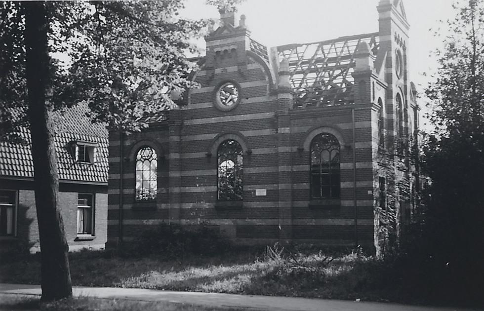 """נוסד בשנת 1901 - נחרב בשואה. בית הכנסת בטורבורג (צילום: """"חסדי אנוש"""")"""