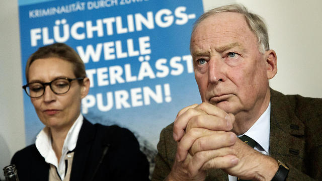 Alice Weidel (L) and Alexander Gauland (R) from the AfD (Photo: EPA)