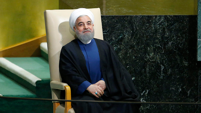 Iranian President Rouhani at the UN General Assembly (Photo: Reuters) (Photo: Reuters)