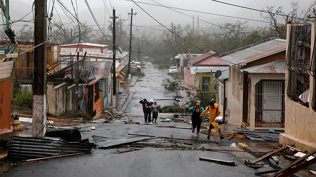 ההרס שחולל הוריקן מריה (צילום: רויטרס) (צילום: רויטרס)