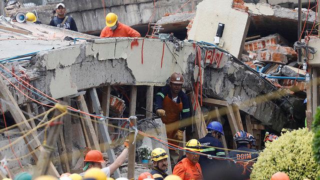 רעידת האדמה במקסיקו (צילום: רויטרס) (צילום: רויטרס)