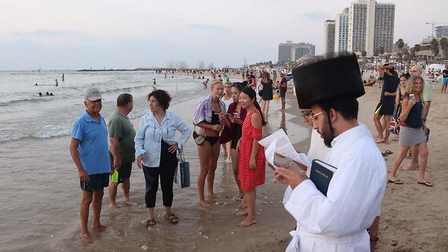 תשליך בתל אביב (צילום: מוטי קמחי) (צילום: מוטי קמחי)