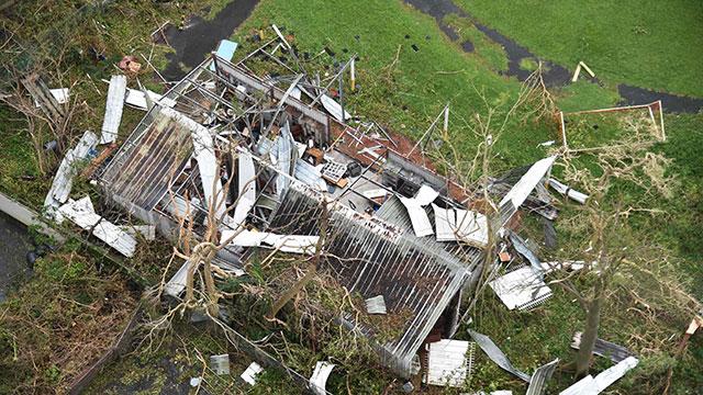 ההרס בפוארטו ריקו (צילום: AFP) (צילום: AFP)