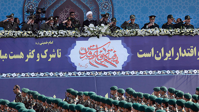 Iranian Revolutionary Guards (Photo: AFP)