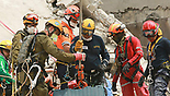 Israeli delegation sifting through wreckage in Mexico