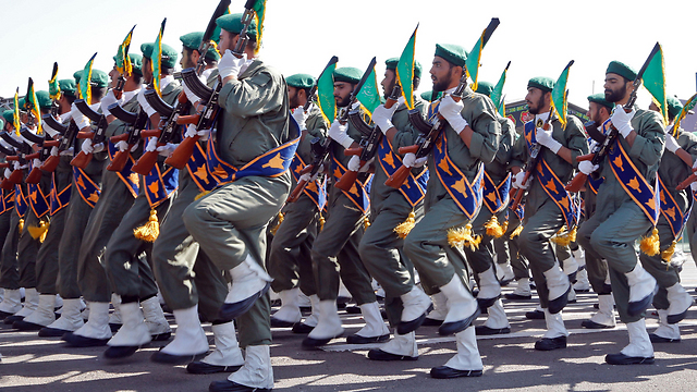 Iranian military parade (Photo: AFP)