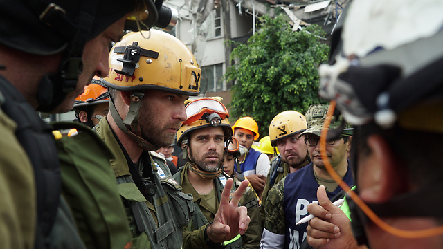 IDF delegation working in Mexico City (Photo: IDF Spokesman's Office)