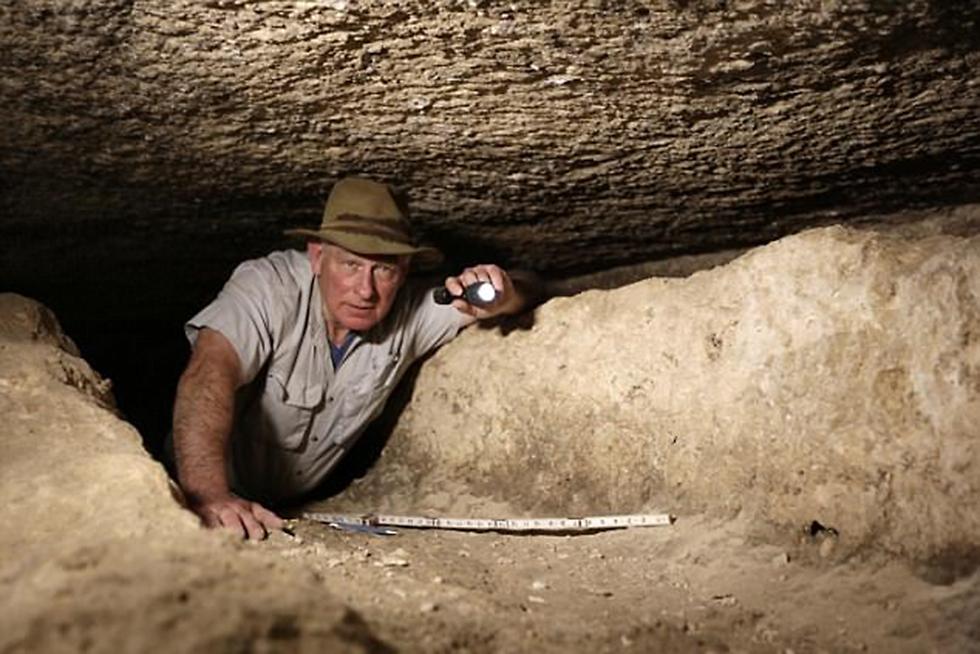הארכיאולוג מרק לנר, חוקר מצרים העתיקה