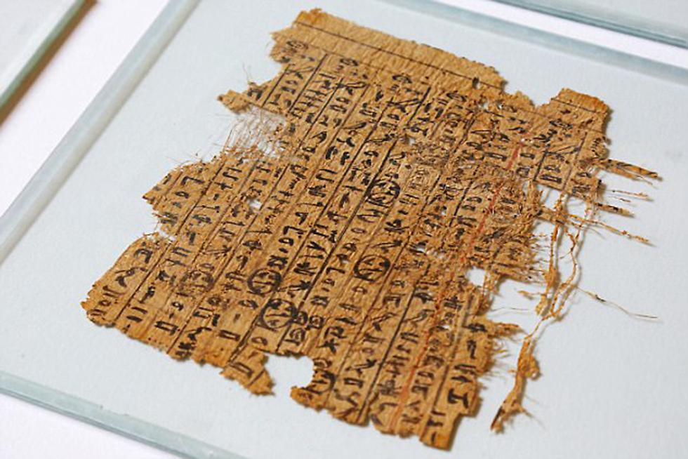 יומן העבודה, בפפירוס עתיק