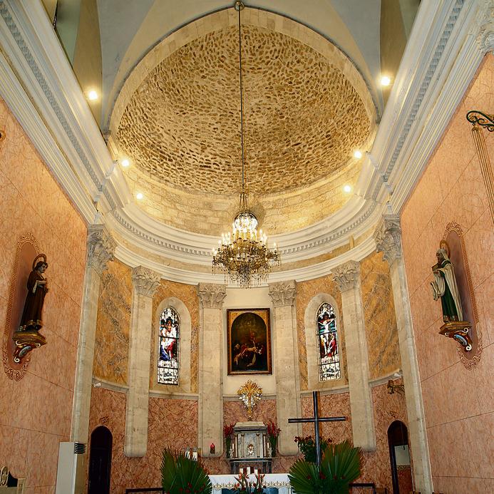 הכנסייה הפרנציסקנית. מהיפות בארץ