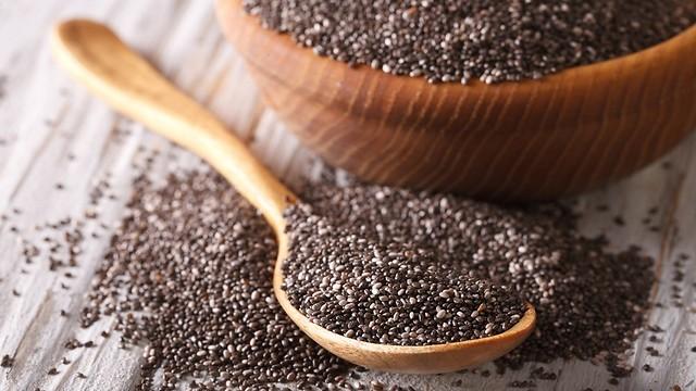 אפשר למנוע תחלואה. זרעי צ'יה (צילום: shutterstock) (צילום: shutterstock)