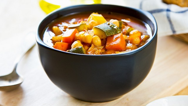 לרגעי רעב מזדמנים. מרק ירקות (צילום: shutterstock) (צילום: shutterstock)