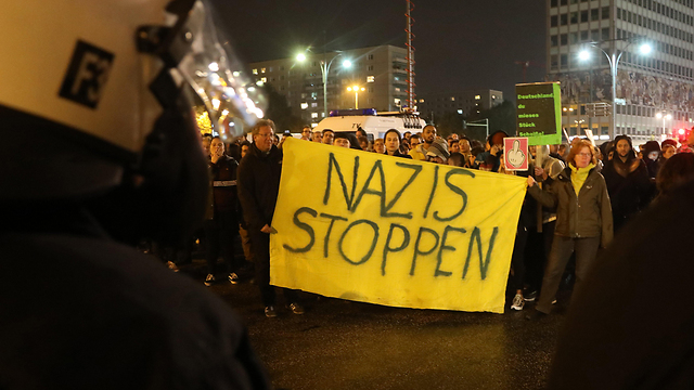 Protest in Berlin against AfD (Photo: EPA)