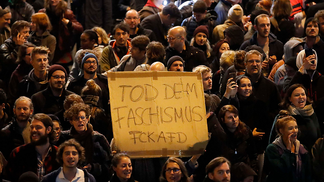 Protest in Berlin against AfD (Photo: Reuters)