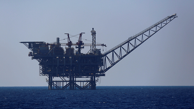 Tamar gas field in the Mediterranean Sea off the coast of Israel (Photo: Reuters)