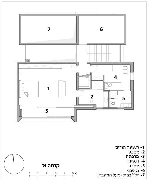תכנית הקומה העליונה (תוכנית: תומר בן דור ופדריקה מנקה (archiFETO))