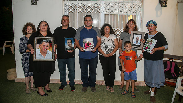 Representatives of the bereaved families (Photo: Yariv Katz)