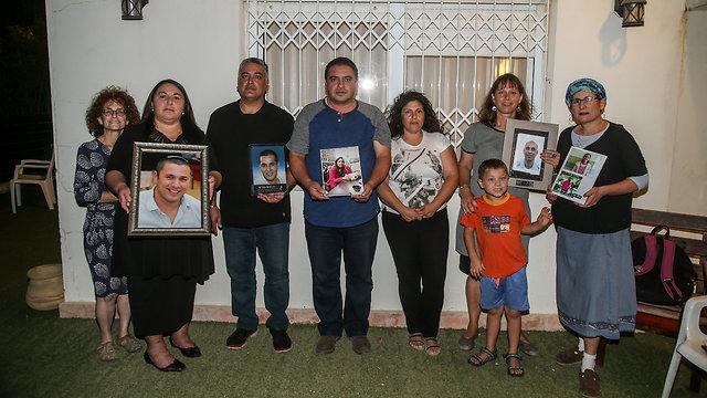 Representatives of the bereaved families (Photo: Yariv Katz)