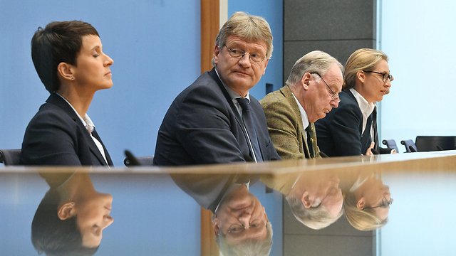 AfD's leaders hold a press conference after their election success (Photo: MCT)