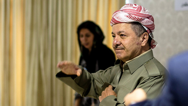 Masoud Barzani (Photo: AFP)