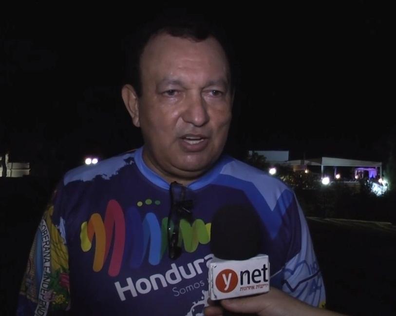 מריו קסטילו, שגריר הונדורס (צילום: אסף מגל)
