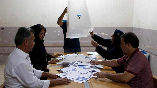 סופרים קולות בכורדיסטן (צילום: רויטרס) (צילום: רויטרס)