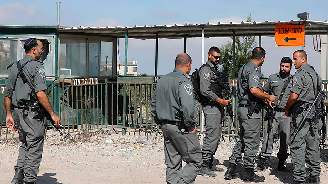 Scene of Har Adar attack. The expanded policy of granting work permits—even at times of escalated violence—proved itself in the current wave of terror (Photo: AFP)