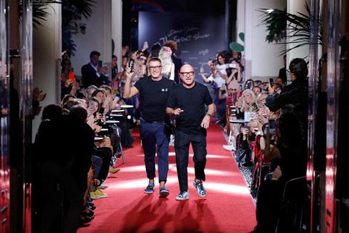 העדיפו להציג מול מעצבים אחרים ולא ביום כיפור. דומיניקו דולצ'ה וסטפאנו גבאנה  (צילום: Gettyimages)