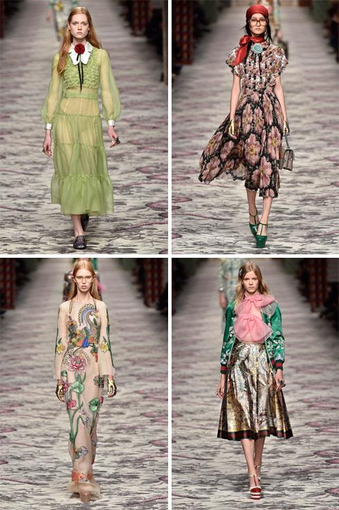 בספטמבר 2015 היה זה בית האופנה גוצ'י שהציג ביום כיפור, ללא נוכחות של אנשי אופנה יהודים (צילום: Gettyimages)