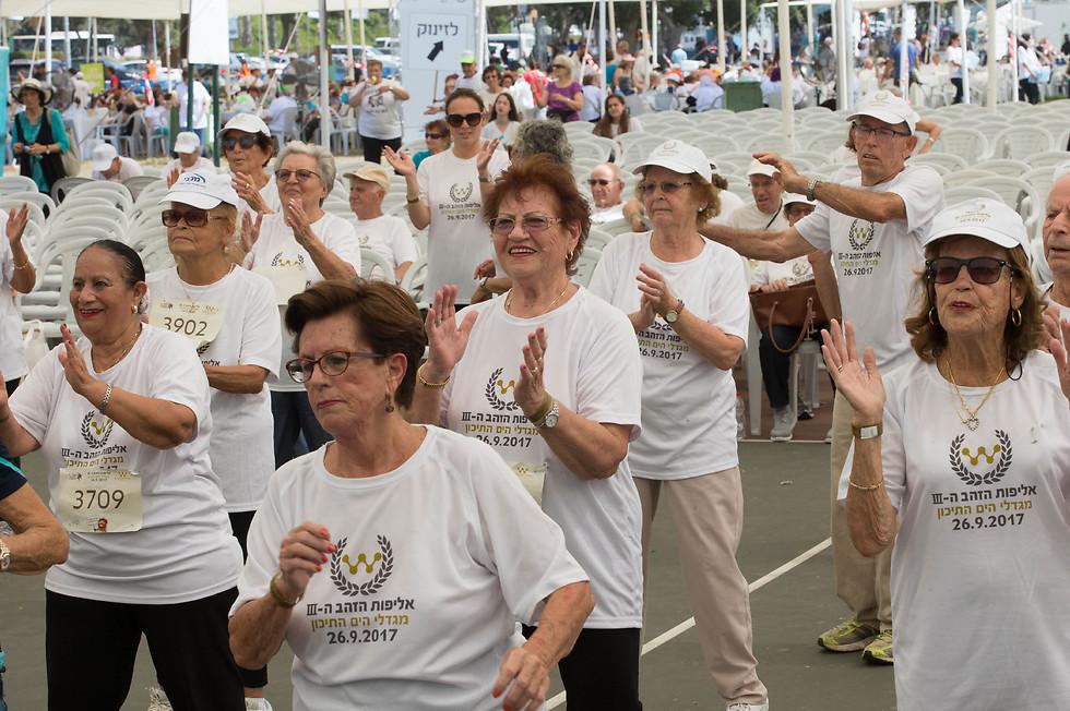 המשתתפים נטלו חלק במגוון תחרויות (צילום: עוז מועלם) (צילום: עוז מועלם)