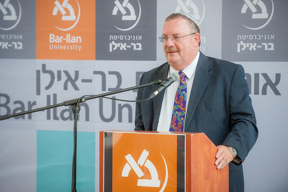 הרשקוביץ בטקס הפרידה (צילום: חן דמרי)