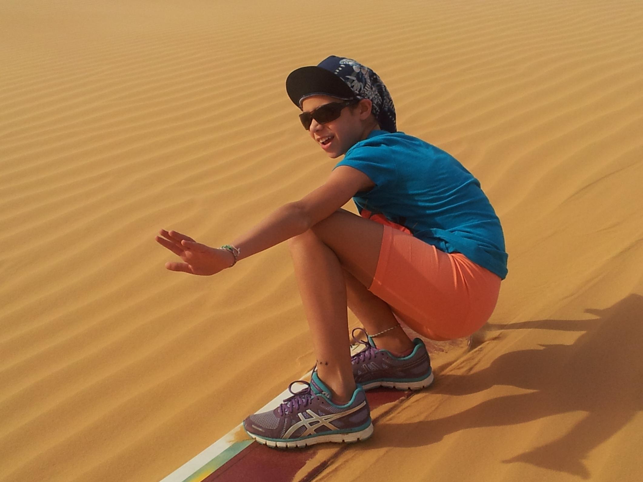 גלישת חולות באשלים (צילום: דרור במדבר)