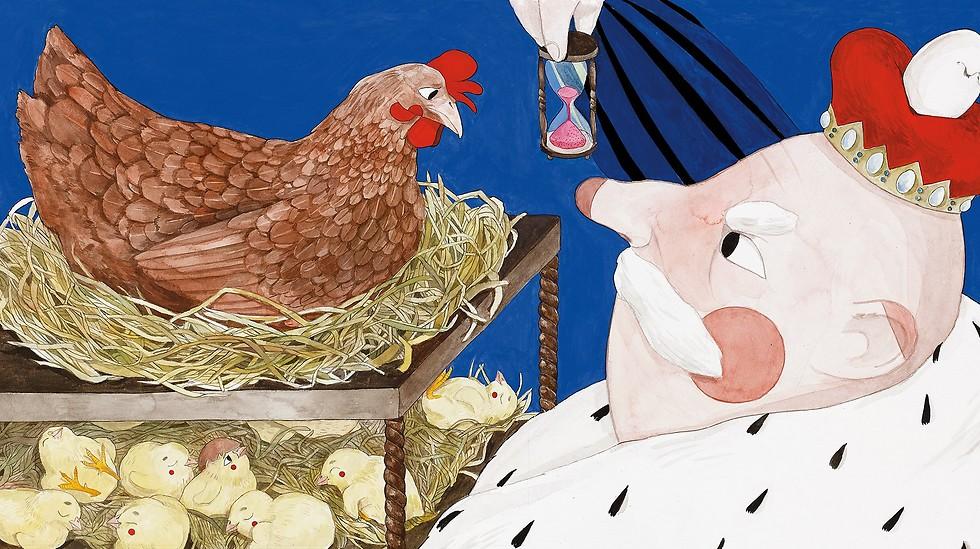 """איור מתוך """"ביצה מרובעת"""" (איור: ליהי יעקב)"""
