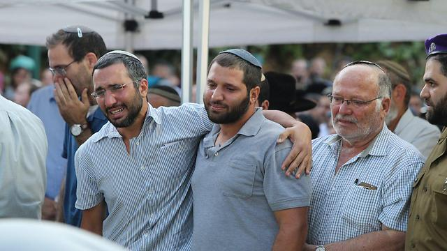 The Cohen family buries a son (Photo: Amit Shabi)