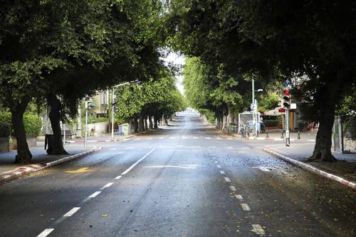 Дороги Израиля в Судный день. Фото: shutterstock