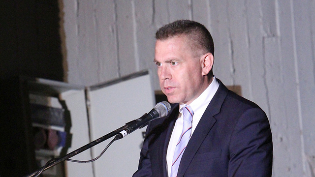 Public Security Minister Erdan said he was not aware of intelligence pointing to wave of violence (Photo: Zohar Shahar)