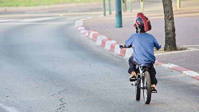 רובם המוחלט של הנפגעים - בנים. תאונות אופניים (צילום: shutterstock)