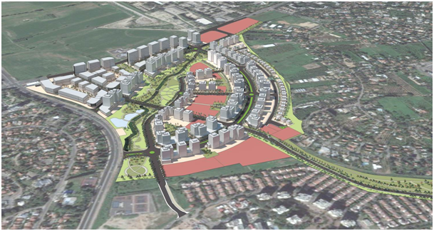 הפרויקט ביהוד (הדמיה: משרד ד.ס. בניין ערים) (הדמיה: משרד ד.ס. בניין ערים)