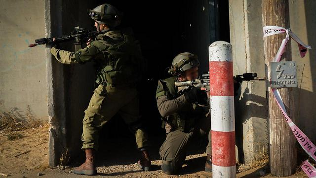 Duvdevan troops training in the Golan Heights (Photo: IDF Spokesman's Office)