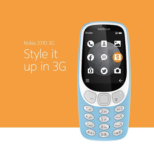 נוקיה 3310: עכשיו גם בדור 3 (צילום: נוקיה)