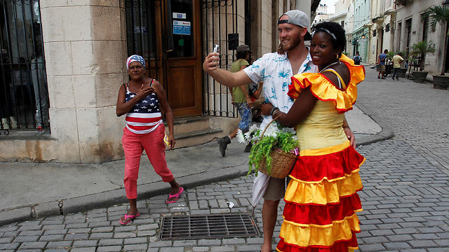 American tourists in Cuba (Photo: Reuters)