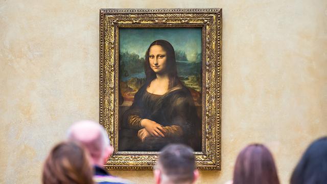 מונה ליזה במוזיאון הלובר בפריז (צילום: shutterstock) (צילום: shutterstock)