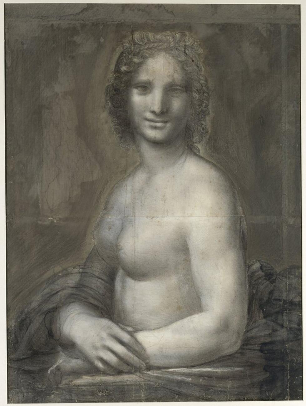 מונה ואנה. הגרסה חסרת הבגדים של המונה ליזה?  (צילום: מוזיאון שנטילי)