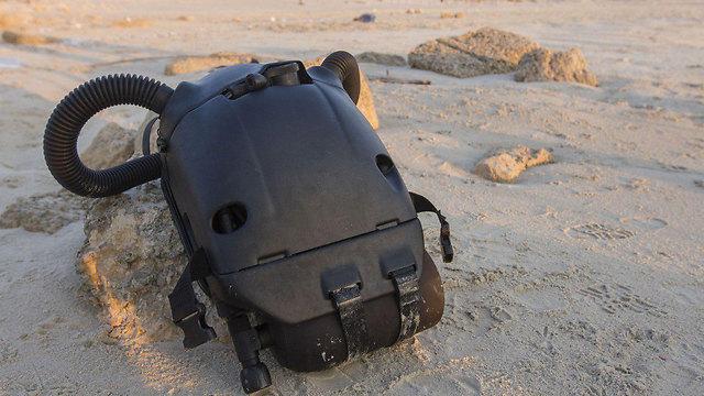 """שמו של המכשיר - בשל צורתו הצפרדעית. ה""""פרוגס"""" (צילום: עידו ארז) (צילום: עידו ארז)"""