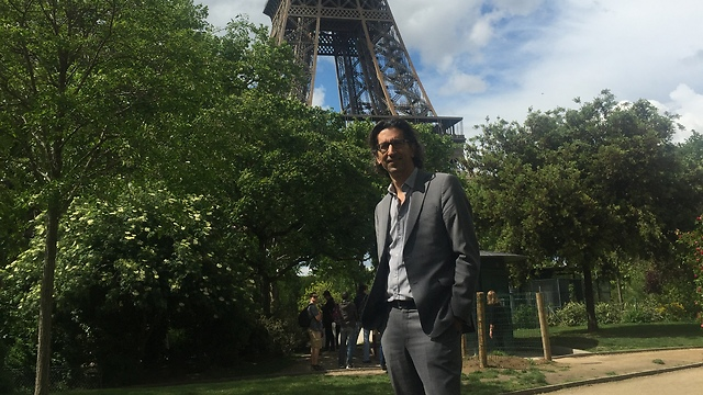 """שגיב בצרפת (צילום: יח""""צ)"""