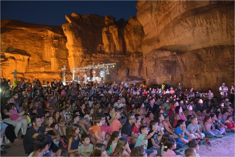 רוק במדבר: פסטיבל תמנע לייב (צילום: ארן דולב)
