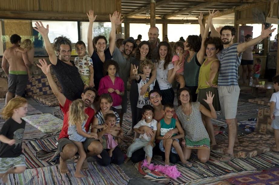 כולם ביחד: פסטיבל המשפחות בערבה (צילום: תיירות ערבה תיכונה)