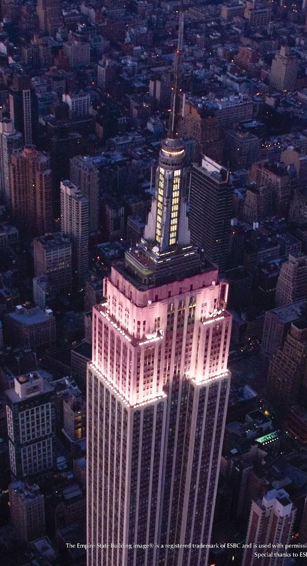 מגדל האמפייר סטייט, ניו יורק (  )